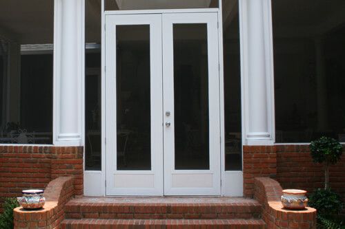 French Doors Screen Enclosure